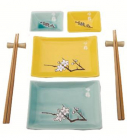 Набор для суши Wellberg Sakura 8 предметов
