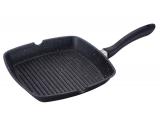 Сковорода-гриль Wellberg Rita 26х28см с мраморным антипригарным покрытием