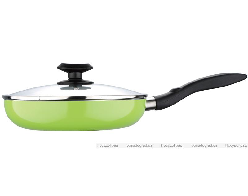 Сковорода Wellberg VALSE Ø26см с мраморным антипригарным покрытием