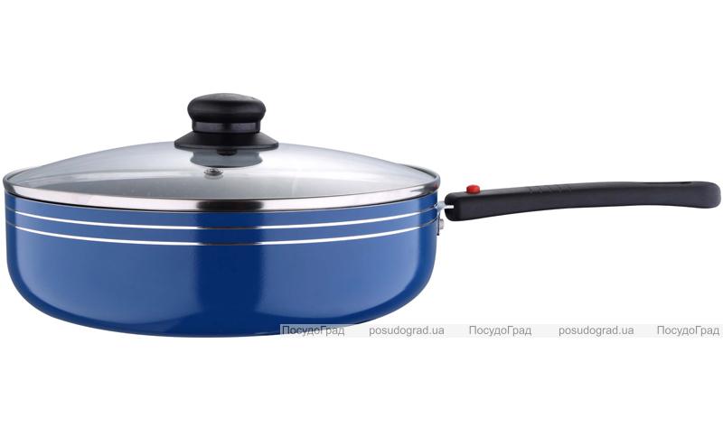 Сковорода Wellberg BIO-Marmo Ø24см со съемной ручкой и антипригарным покрытием