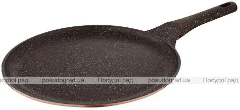 Сковорода блинная Wellberg Kasian Brown Ø32см из литого алюминия
