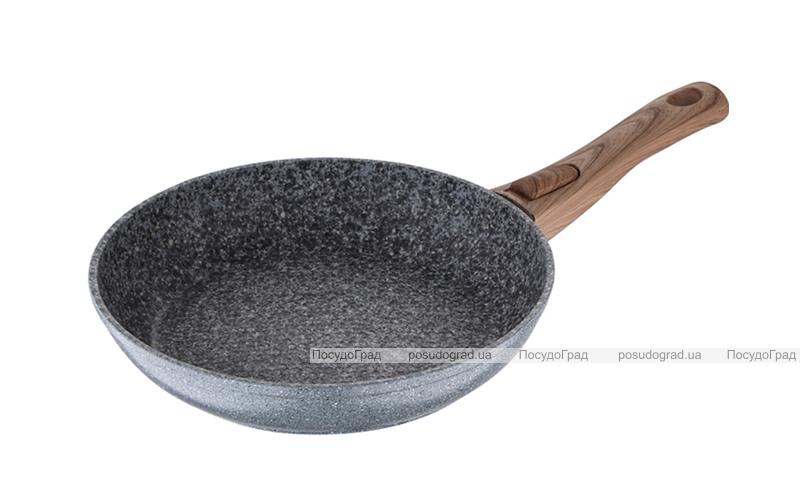 Сковорода Wellberg Granito Ø22см зі стільниковим дном і антипригарним покриттям