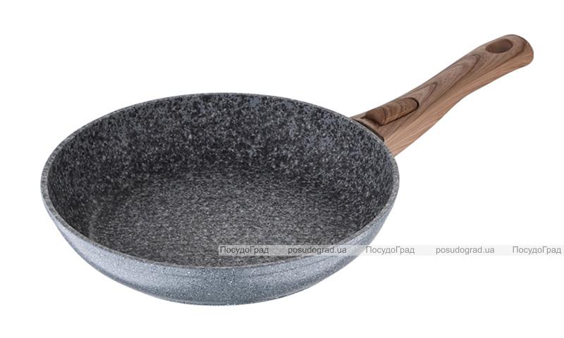 Сковорода Wellberg Granito Ø24см с сотовым дном и антипригарным покрытием