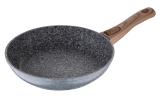 Сковорода Wellberg Granito Ø26см зі стільниковим дном і антипригарним покриттям