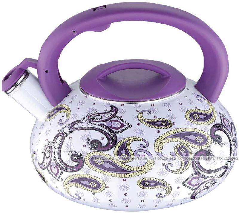 Чайник эмалированный Wellberg Pfeifkessel 3.2л со свистком, индукция