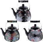 Чайник емальований Wellberg Agerasia 4л, індукція