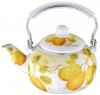 Чайник эмалированный Wellberg Fruit Cocktail 2.2л, индукция