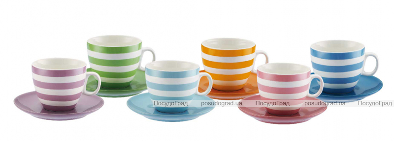 Чайный набор Sempre 220мл 12 предметов