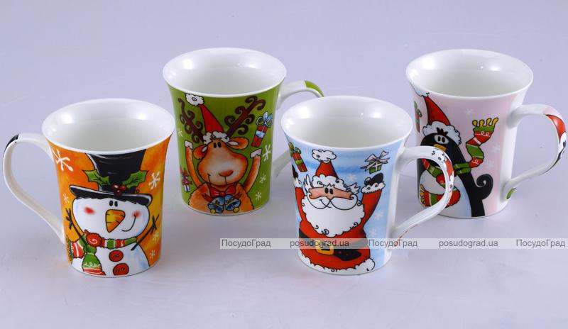 """Кружка Wellberg """"Children's Story"""" Новогодняя-35 360мл"""
