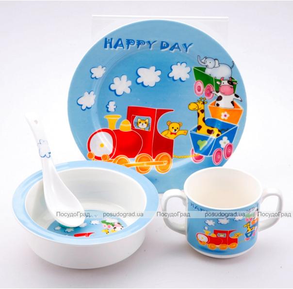 Набор детский Wellberg Happy Day-902 детский 4 предмета