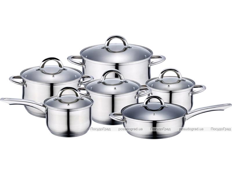 Набор кухонной посуды Wellberg Legend 4360 12 предметов