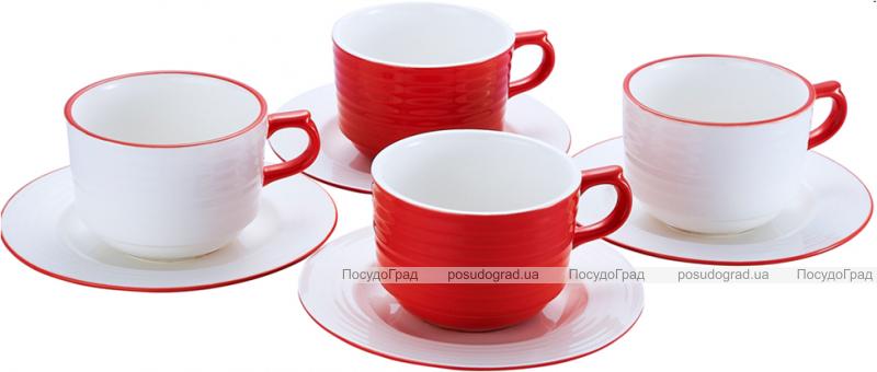 Чайный фарфоровый набор Primavera 250мл 8 предметов