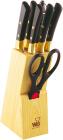 Набор кухонных ножей Wellberg Builefeld-5124 8 предметов