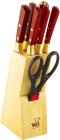 Набор кухонных ножей Wellberg Builefeld-5125 8 предметов