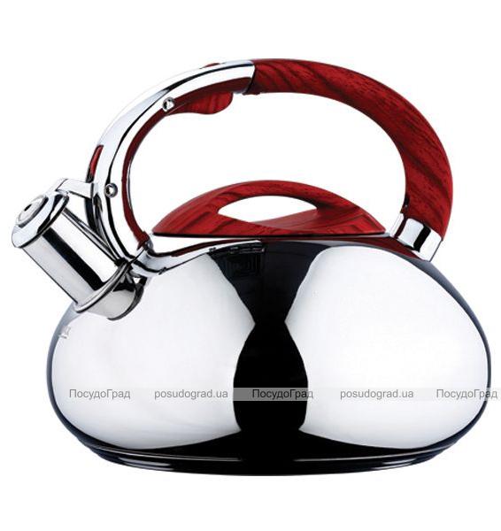 Чайник Wellberg 6002 на 3 литра, бесшовный, индукционный