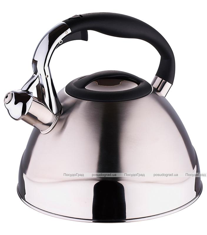 Чайник Wellberg Ergoria Silver на 3 литра