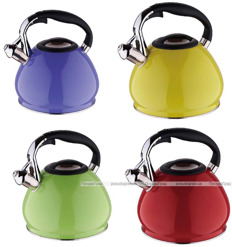Чайник Wellberg Ergoria на 3,4 литра цветной