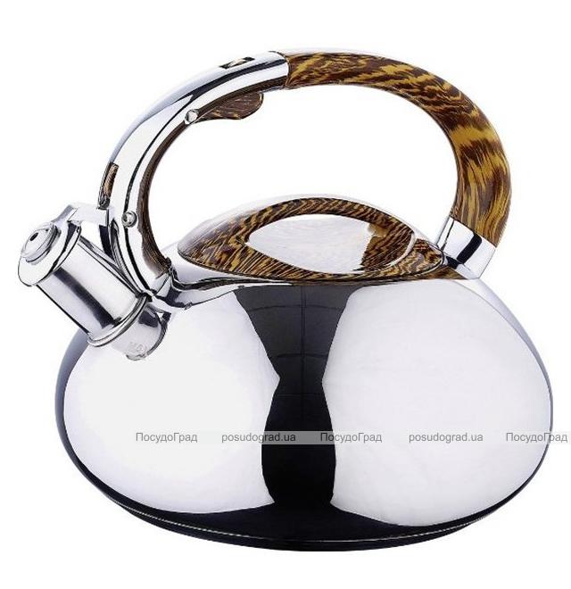 Чайник Wellberg 6090 на 3 литра, бесшовный, индукционный