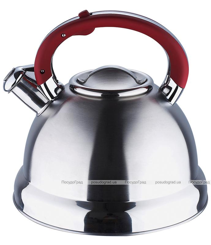 Чайник Wellberg Archimedes 2,6л со свистком, индукция