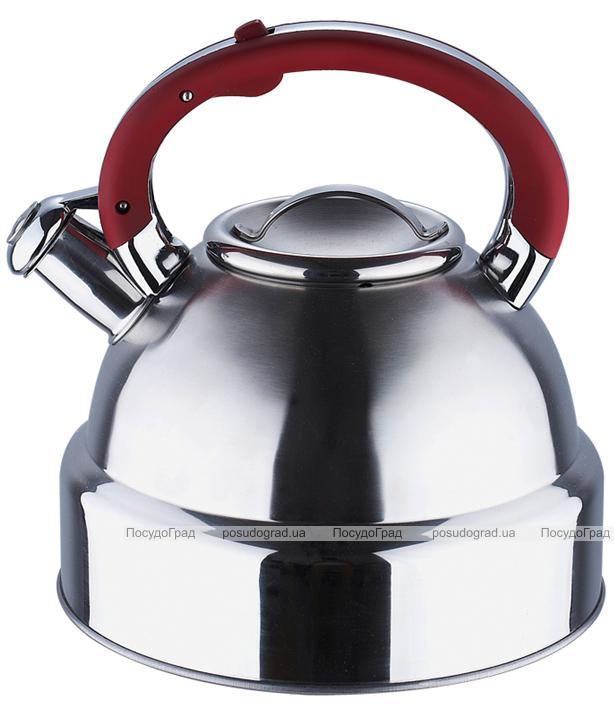 Чайник Wellberg Archimedes 4л со свистком, индукция