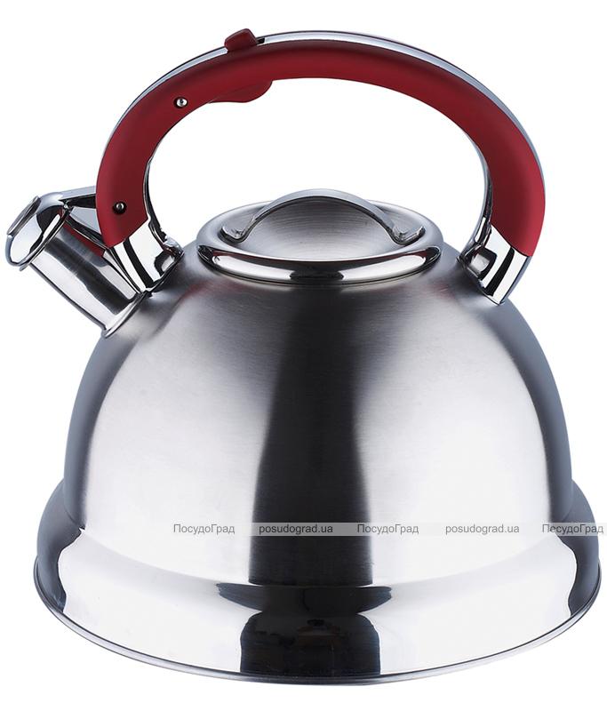 Чайник Wellberg Archimedes 4,7л со свистком, индукция