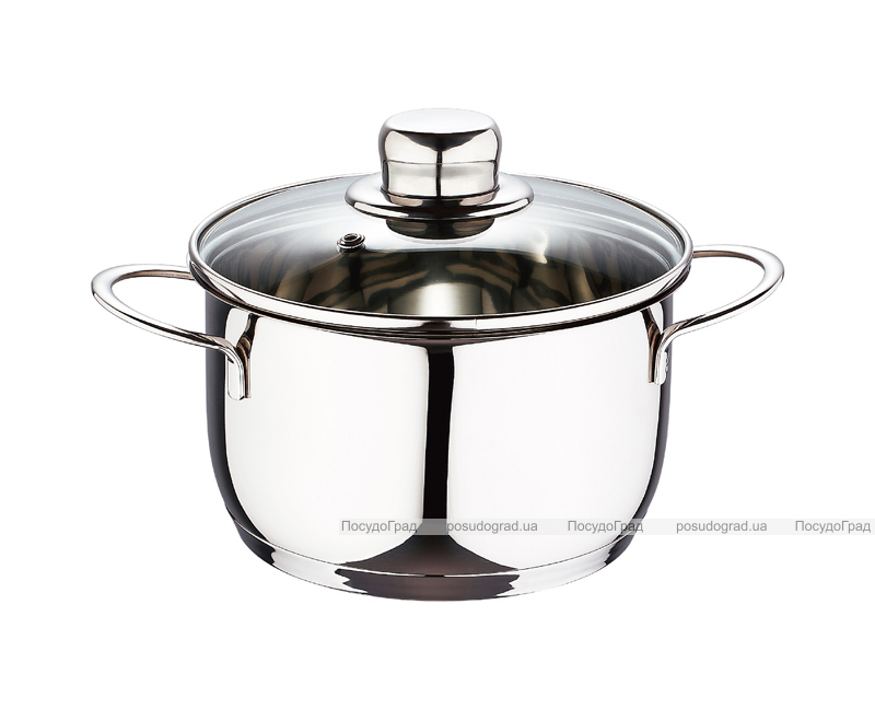Кастрюля Wellberg Style Pot Junior 1л со стеклянной крышкой