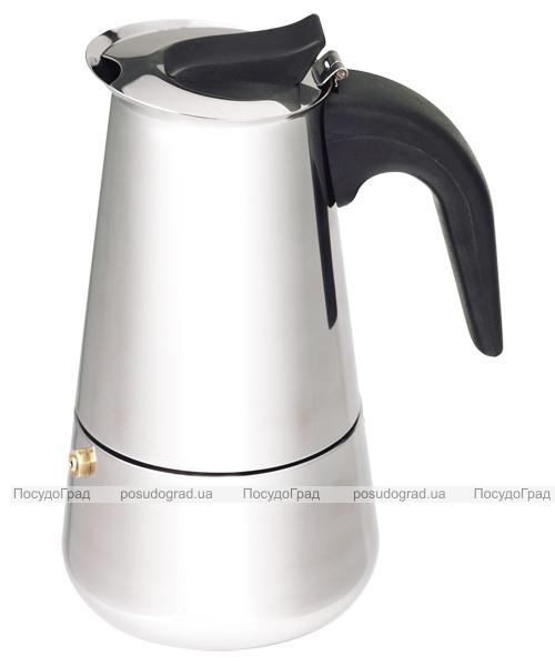 Гейзерная кофеварка эспрессо Wellberg Coffee Maker 400мл