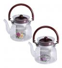Чайник заварочный Wellberg Borosil 800мл стеклянный