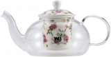 Чайник заварочный Wellberg Fannings 700мл стеклянный с керамическим фильтром