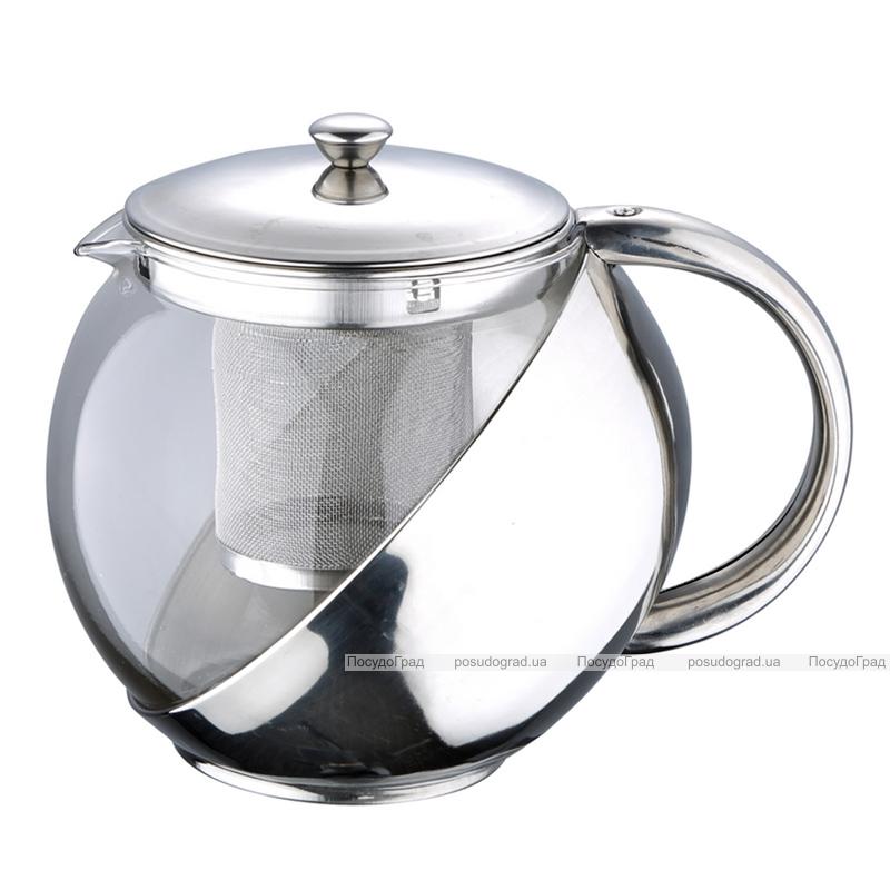 Чайник заварочный Wellberg Trendy 750мл с фильтром из нержавеющей стали