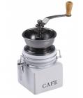Кофемолка ручная Wellberg Cafe керамическая белая банка