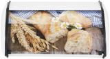 Хлебница металлическая Wellbeg Baguette 36х23х14.5см