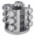 Набір для спецій Wellberg 12 ємностей на металевій підставці