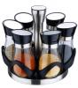 Набор для специй Wellberg Condimento 6 емкостей 125мл на подставке