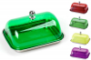 Масленка Wellberg Bright Chef прямоугольная с цветной крышкой