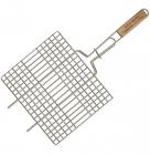 Решетка для барбекю Wellberg 25х26см плоская