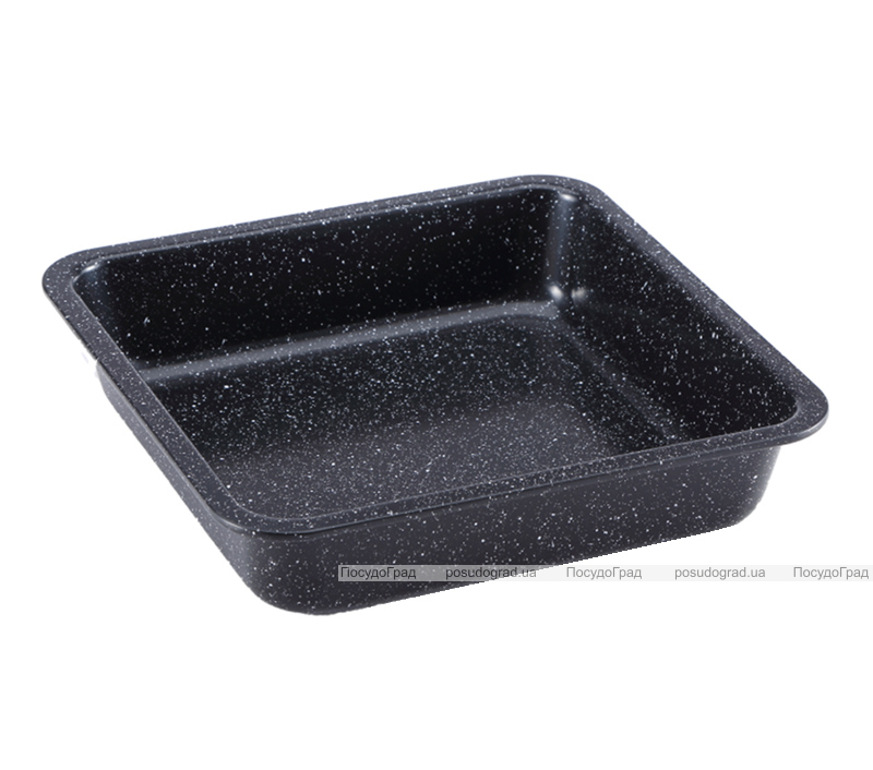 Форма-противень Wellberg Bratpfanne Marble 22.5x22.5x5см с антипригарным покрытием