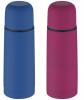 Термос Wellberg Morosof 1000мл с цветным прорезиненным покрытием