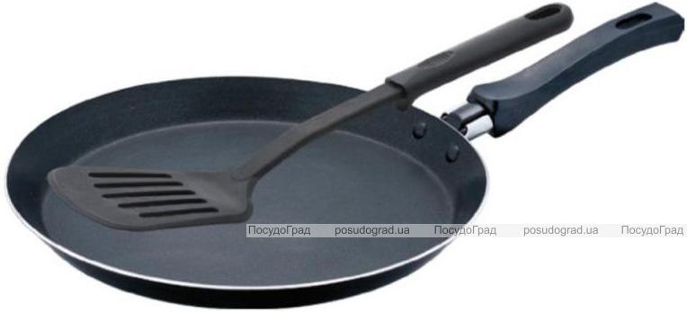 Сковорода блинная Wellberg Oressence Ø22см с нейлоновой лопаткой