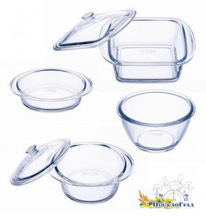 Пласстиковая посуда огнеупорная